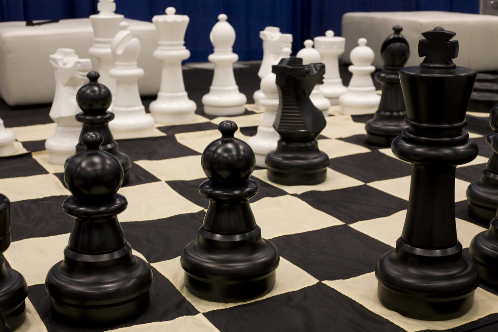 Chess-Pieces and Board