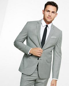 Mens Matching Pants and Jacket Suit