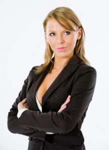 Woman Attorneyin Business Suit